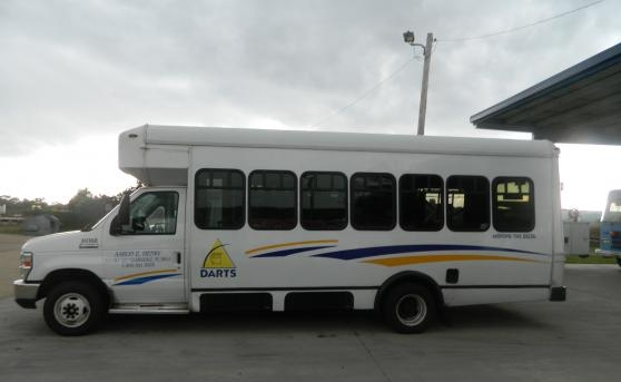 photo of public transit bus
